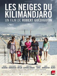 Les Neiges du Kilimandjaro est un film français réalisé par Robert Guédiguian, sorti en 2011, mettant en vedette Ariane Ascaride et Jean-Pierre Darroussin. Wikipédia (Télé Québec / Septembre 2014)