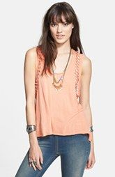 Free People 'Neptune' Knotted Panel Tank