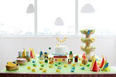 Festa do Sitio do Pica Pau Amarelo - handmade party