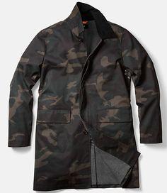 Camo Waxwear Coat - JackSpade