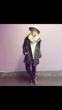 Fall outfit : hat, boots and scarf <3 flowercrown.com Fall Outfits, Fashion Inspiration, Raincoat, Hipster, Hat, Boots, Jackets, Rain Gear, Crotch Boots
