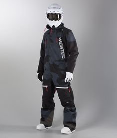 Montec Next Unisex Overall Artic-Camo - Ridestore. Mode Outfits, Sport Outfits, Motocross Gear Bag, Mode Au Ski, Zombie Gear, Ski Gear, Snowboarding Outfit, Winter Gear, Ski And Snowboard