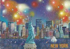 USA Postcard (4)