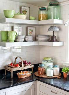 Cottage Kitchen | The Polished Pebble