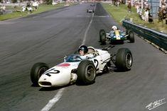 1965 GP Meksyku (Ronnie Bucknum) Honda RA272