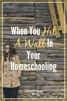 When you hit a wall in your homeschooling, do you know what to do? Here are encouraging thoughts to help you push on through when you hit the wall. Dealing With Anger, Encouraging Thoughts, Christian Parenting, Christian Homeschool, Home Schooling, Homeschool Curriculum, Encouragement, How Are You Feeling, Corner