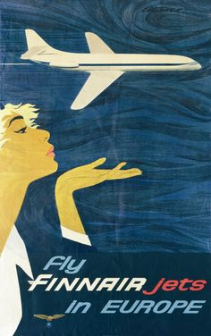 1959 fly Finnair jets in Europe