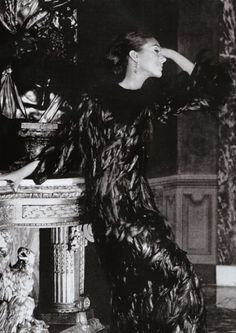 Marisa Berenson by Henry Clarke