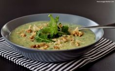 kartoffel-rucola-suppe / potato arugula soup