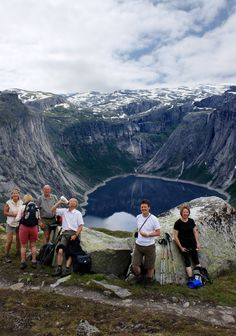 On the way to Trolltunga, Hardangerfjord, Norway. By Jostein Soldal - www.opplevodda.com