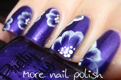 More Nail Polish: 31 Day Challenge - Day 14 - Flowers