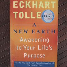 """Read """"A New Earth (Oprah Awakening to Your Life's Purpose"""" by Eckhart Tolle available from Rakuten Kobo. The anniversary edition of A New Earth with a new preface by Eckhart Tolle. With his bestselling spiritual guide Th. Earth Book, New Earth, How To Be A Happy Person, Yoga Books, Power Of Now, Life Changing Books, A Course In Miracles, Spirituality Books, Up Book"""