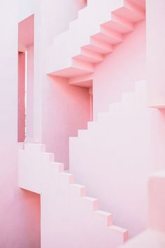 [New] The 10 Best Home Decor Today (with Pictures) - Pink stairs goal Color Rosa, Pink Color, Imagenes Color Pastel, Millenial Pink, Aesthetic Colors, Aesthetic Pastel Pink, Pink Themes, Pink Wallpaper, Everything Pink