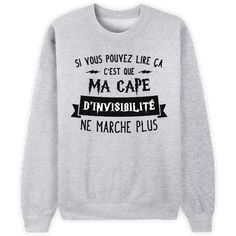 [Harry Potter] Cape d'invisibilité ne marche plus Harry Potter Cape, Mode Harry Potter, Harry Potter Shirts, Harry Potter Universal, Harry Potter Humour, Sassy Shirts, Cool T Shirts, Tee Shirts, Funny Shirts