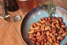 Bayou Bar Nuts.  Pair these with a 6-pack of craft beer.