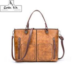 Drop shipping Luxury Handbags Women Bags Designer New Fashion Litchi  handbags Casual Messenger Bag Large Capacity 20fe840ccd191