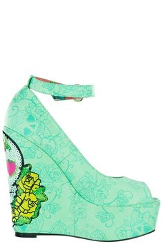 Iron Fist Sweet Tooth Peep Toe Wedge -- See this great product.