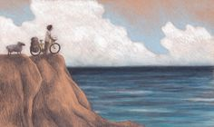 """""""THE JOURNEY: INFINITY"""", illustration by Sarah Khoury, 2013. Personal project for a picture book"""
