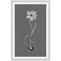 Melissa Van Hise Flora lll Framed Graphic Art