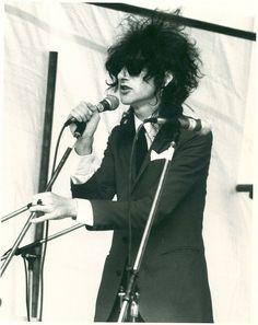 Punk poet John Cooper Clarke