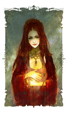 Melisandre of Asshai by J #agot #got #asoiaf