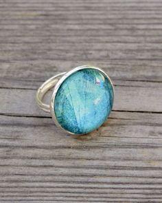 Unique handmade artistic ring