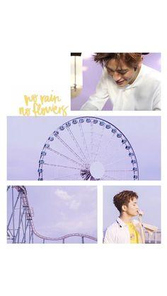 """NCT Jaehyun x NCT Mark // JaeMark // """"No Rain, No Flowers"""" wallpaper"""