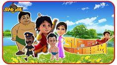 SHIVA ANTV Bergabungan dengan SUPER BHEEM Finger Family Nursery Rhymes S...