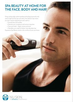 C'mon guys we know you all want to look good too.   http://nuskinwithorlando.nsproducts.com/register
