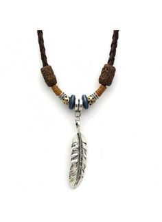 Feather Men's Necklace                                                                                                                                                                                 More