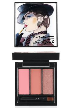 Supermodels Marisa Berenson, Jerry Hall, and Pat Cleveland for MAC Cosmetics' upcoming makeup collection paying homage to fashion illustrator Antonio Lopez  MAC Antonio Lopez 3/Lips ($27.50)