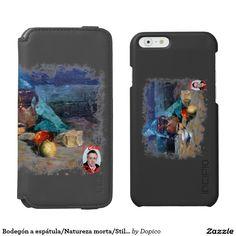 Bodegón a espátula/Natureza morta/Still life Funda Cartera Para iPhone 6 Watson