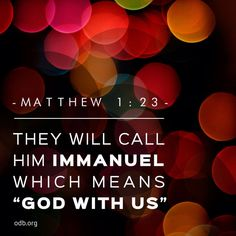 """""""God with us""""- The true King...Jesus!"""