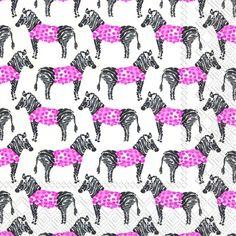【楽天市場】ペーパーナプキン シマウマ しまうま マルチプル 紙ナフキン IHR ランチ 10枚:Rose of the Party 楽天市場店