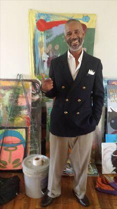 "Andre Jamal Walker aka bestpainteralive in the ""Play Studio"" SW ATL"