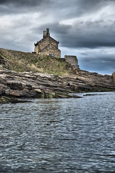 Earl Grey's Bathing House at Howick, Northumberland.