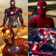 """(@spidey.marvel) på Instagram: """"Upgrade time. Which year do you prefer? - - - - - - - - - - -[ #spiderman #spidermanhomecoming…"""""""