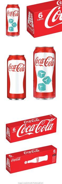 Coca Cola's Chill Activated Can and Sixer #packaging