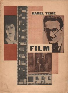 Karel Teige - Cover for Film
