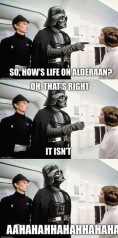 How is life on Alderaan xD
