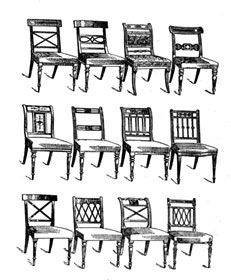 Furniture Design Styles top 20 regency chairs styles | regency chairs styles quickfacts