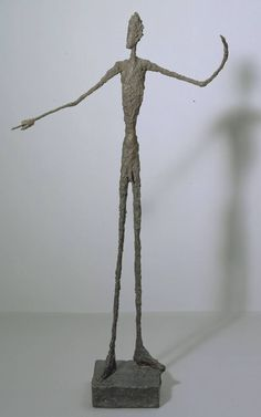 Alberto Giacometti (1901‑1966): Man Pointing / Homme signalant. 1947 - Medium: Bronze - Dimensions object: 1780 x 950 x 520 mm