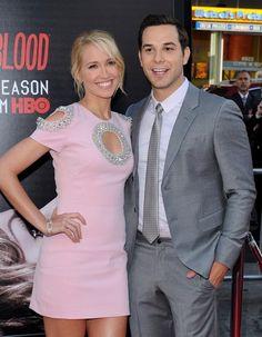 Anna Camp and Skylar Astin Photos»Photostream · Pictures · 'True Blood'  Season 7 Premiere. '