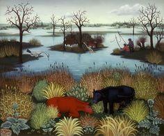 Ivan Generalic - Riverscape