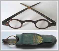 Georgian Eye Spectacles / Reading Glasses G&C Dixey Opticians to The King Pride And Prejudice, Optician, Haberdashery, Reading Glasses, Eye Glasses, Dandy, Georgian, Pretty Pictures, Other Accessories
