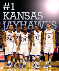 #1 Kansas Jayhawks