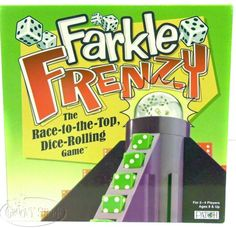 Patch Products FARKLE FRENZY Dice Rolling Race to the Top Family Fun Game NEW