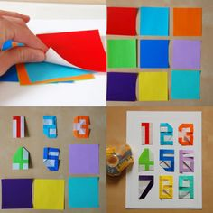 Origami numbers.
