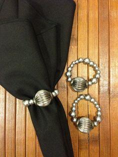 Chumbo - reciclagem de um colar da minha mãe. Kkkkk
