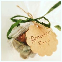 Healthy & simple Reindeer Poop! What a cute  idea from @dottyskitchin  recipe in next post #healthykids #repost  No 1 simple healthy fun no bake Christmas treat to make with kids!  Dotty is beyond excited to take these into school today and trick her friends!!   I developed the idea whilst making power balls with her and realising they'd be much more fun for kids if they were smaller about the size of rabbit droppings... hence for this time of year 'reindeer poop' (I presume it looks similar…